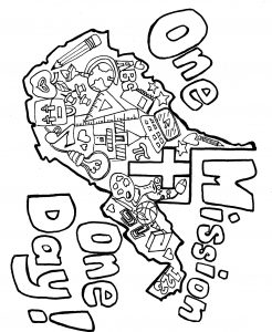 Icon of OMOD Coloring Page
